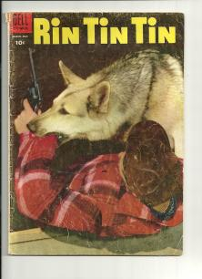 1955 Rin Tin Tin Comic Cover