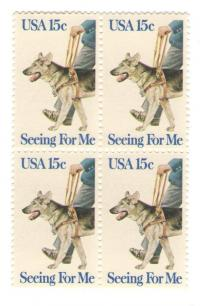 1979 Seeing Eye Postage Stamps