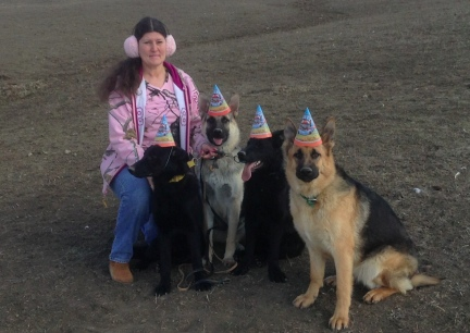 Marna's GSD Birthday Party 2014-03-27
