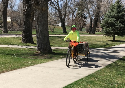 Teanna's Belle Fourche Bike Ride 2018-04-28