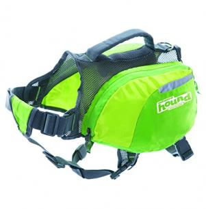 Outward Hound Green Dog Backpack Day Pack