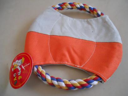 Rope & Canvas Dog Frisbees